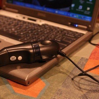 USB vysavač