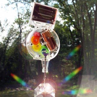 Křišťál Swarovski - solární imitace duhy