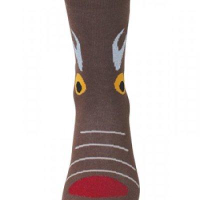 Bláznivé ponožky - s jelenem