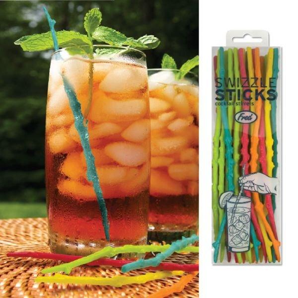 Větvičková míchátka nápojů