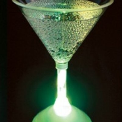 Svítící párty skleničky - Koktejlová