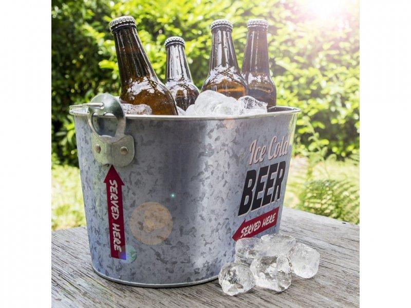 Chladící kbelík na pivo