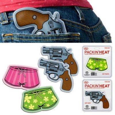 Dva revolvery pro zahřátí
