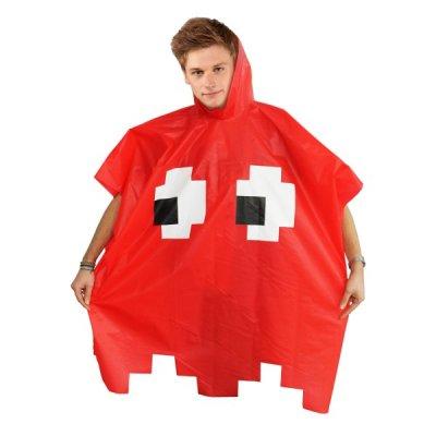 Retro pláštěnka - Červená