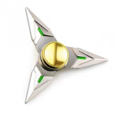 Fidget Spinner Metal - Silver
