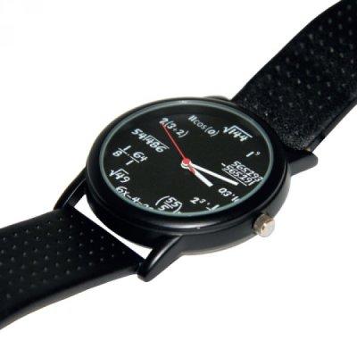 Matematické náramkové hodinky