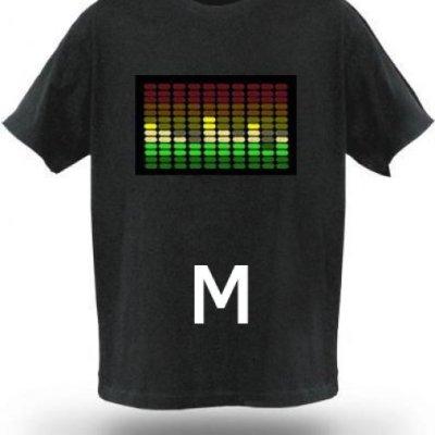 Tričko s ekvalizérem - Model A - Velikost M