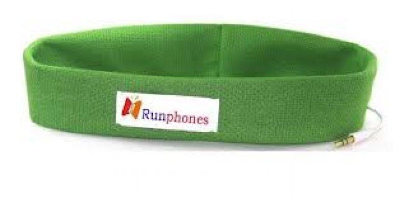 čelenka s reproduktory - zelená