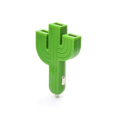 Nabíječka do auta - kaktus
