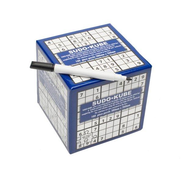 3D Puzzle sudoku s fixem