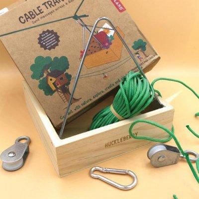 Vytvoř si vlastní transportní lanovku