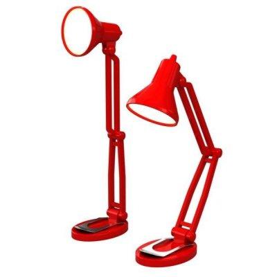 Lampička na knihu - Tiny Tim - červená