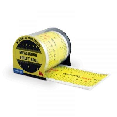 Toaletní papír-měřící páska