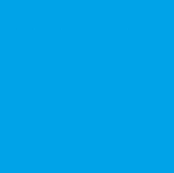 USB LED lampička 7 LED - Modrá