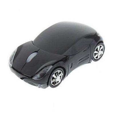 PC myš auto bezdrátová - černá