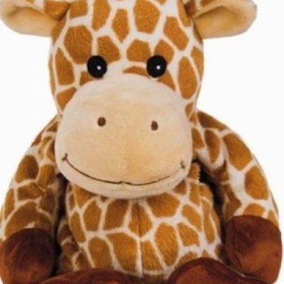 Hřejivý levandulový plyšáček - Žirafa