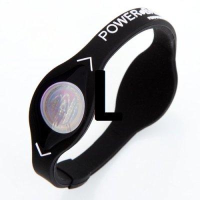 Power balance černý - Velikost L