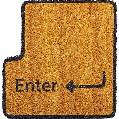 Rohožka - klávesa Enter