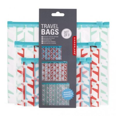 Cestovní set tří taštiček