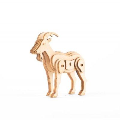 Skládací dřevěná koza