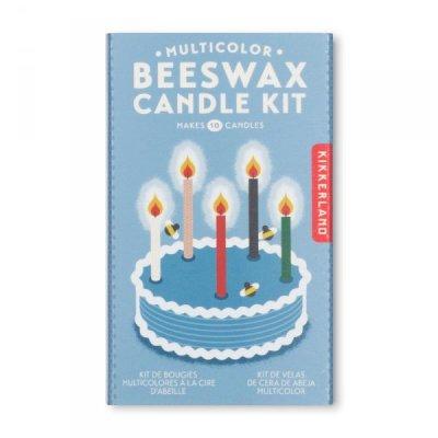 Vytvoř si vlastní svíčky na dort