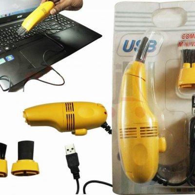USB vysavač - Žlutá