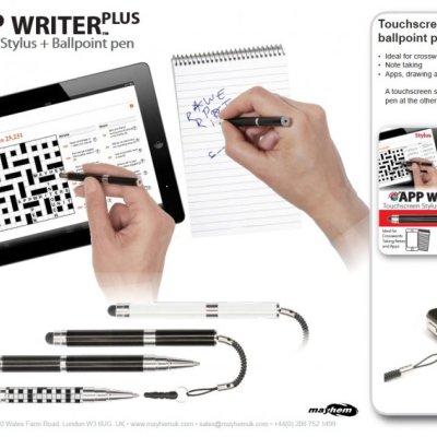 App Writer křížovkové pero
