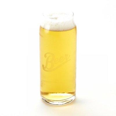 Pivní plechovková sklenice