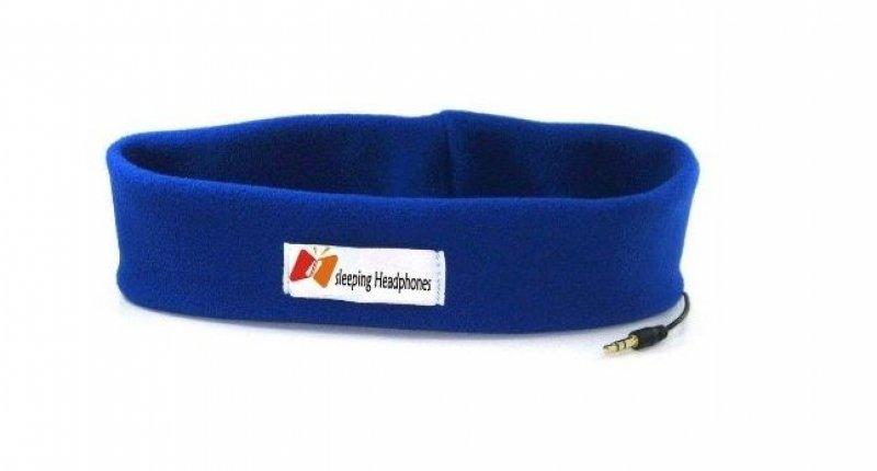 čelenka s reproduktory - modrá