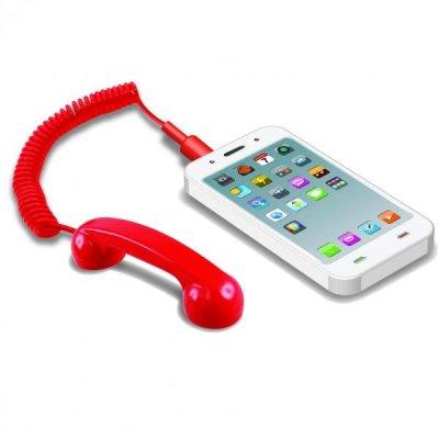 Malé sluchátko pro mobil