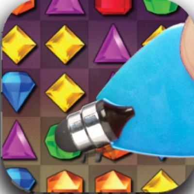 Stylus na dotykové displeje - App writer - šachovnice