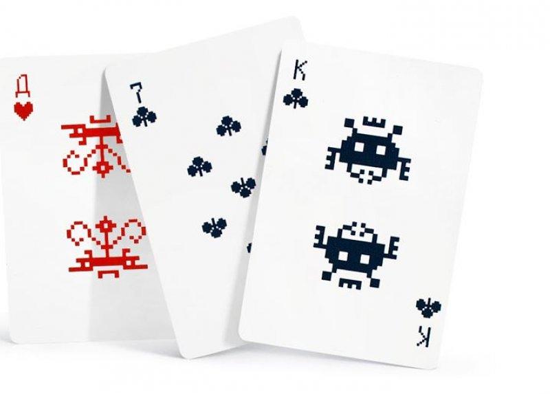 Hrací karty Vetřelci z vesmíru (Space Invaders)