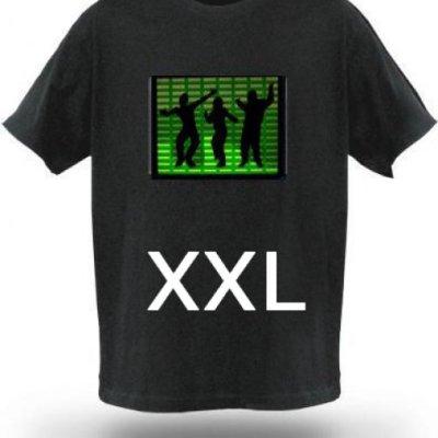 Tričko s ekvalizérem - Model C - Velikost XXL