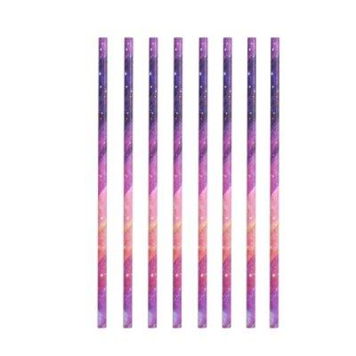Papírová brčka - galaxie