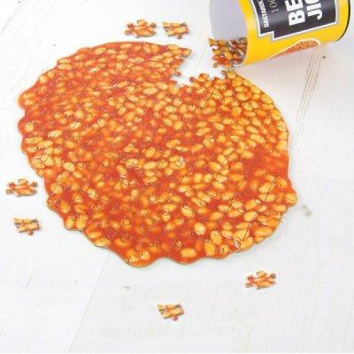 Puzzle-rozlité fazole