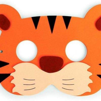 Párty maska - džungle