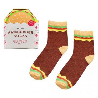 Ponožky hamburger