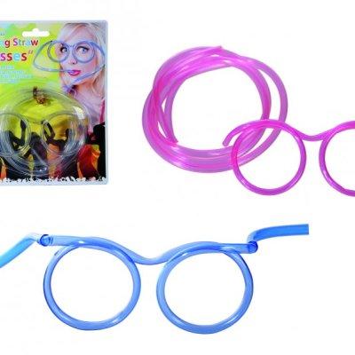 Párty brčkové brýle