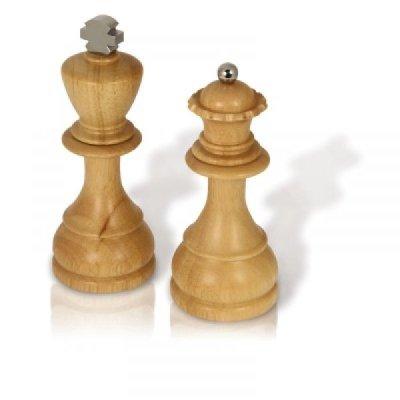 Šachové mlýnky na sůl a pepř