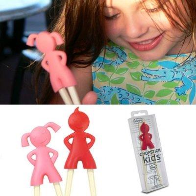 Dětské jídelní hůlky - Holčička
