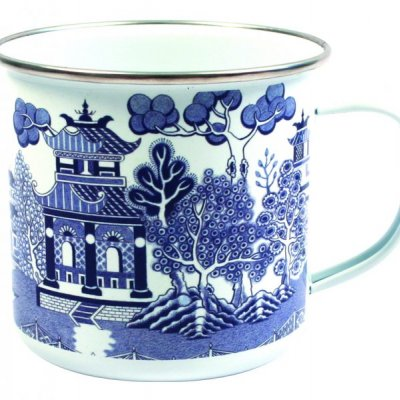 Plecháček - styl anglický porcelán