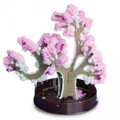 Zimní bonsai - růžová