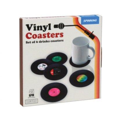 Retro vinylové tácky