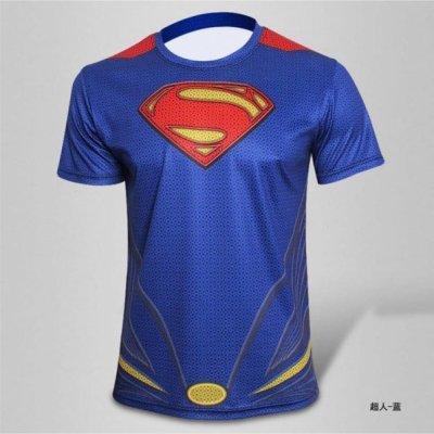 Sportovní tričko - Superman - Velikost - XXL